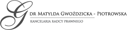 Kancelaria Radców Prawnych Dr Matylada Gwoździcka & Krystyna Gwoździcka